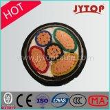 câble à plusieurs noyaux de jupe de PVC d'isolation du câble cuivre XLPE de la basse tension 300/500V