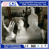 Gravure CNC pour grandes sculptures en bois mousse, figures, animaux