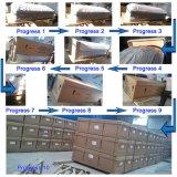 Migliore cofanetto di legno selezionato del velluto di qualità bara interna funerea cinese