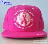 100% algodão logotipo 3D Snapback Cap Hat