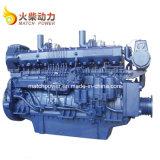 Grote Macht 8 de Dieselmotor van Cilinders voor Boot 600HP door Weichai