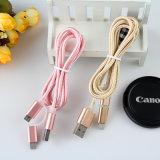 O nylon da fábrica de China isolou o cabo do USB do relâmpago de 8 Pin
