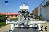 Doppelte Kopf CNC-Fräser-Ausschnitt-Maschinerie für Möbel