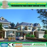 Personalizar a casa clara personalizada do Prefab do projeto do poço da construção de aço