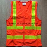 Migliore maglia riflettente arancione di vendita (accettare il marchio personalizzato di stampa)