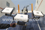 2 anos Garantia Torre de iluminação solar móvel de elevação hidráulica ao ar livre