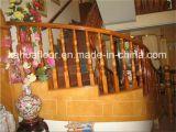 Balustrade de vente chaude d'escalier en bois solide de Foshan