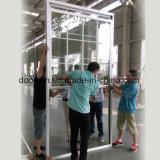 Hung salto térmico de una sola ventana de aluminio