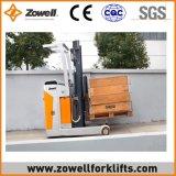 Mini carro eléctrico del alcance con 1.5 altura de elevación de la capacidad de carga de la tonelada 5m