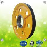 Ring schmiedete Stahlportkran-Bewegungsriemenscheiben mit Qualität