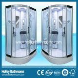 Neue Entwurfs-Computer-Bildschirmanzeige-Dusche-Kabine mit Glasregal und Sitz (SR119L)