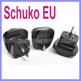 Schuko Germania europea Francia negli S.U.A. Grounded Plug Adapter
