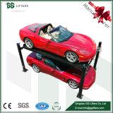 공장 3500kg는 Parking&#160를 위한 4개의 포스트 자동 기중기를 케이블 몬다;