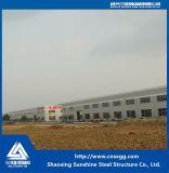 Almacén ligero de la estructura de acero de 2017 casas prefabricadas con la columna de China