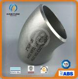 Acciaio inossidabile che misura gomito 45D con ISO9001: 2008 accessori per tubi di Wp316/316L (KT0071)