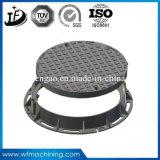 O ferro de molde de OEM/Customized articulou-se/tampa de câmara de visita selado para raspar/drenagem (B125/C250/D400)
