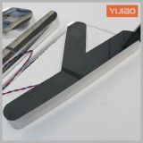 Zoll 3D LED Backlit Mirror Steel Letters