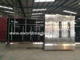 Producto de limpieza de discos y secador de cristal verticales de la arandela