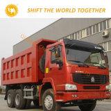 아프리카를 위한 HOWO Dump Truck 10 Tires Tipper Hot Sale