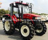 tracteur de 130HP 4WD dans les machines avec la cabine