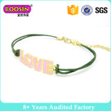 Armband van de Kabel van de Omslag van de Charme van de Liefde van de Juwelen van de manier de Met de hand gemaakte Gouden voor Paren #568
