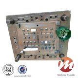 Пластичная прессформа впрыски для компонентов кнопочной панели держателя