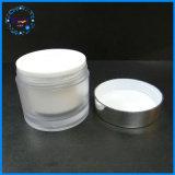 De in het groot 50ml Kosmetische Kruik van de Plastic Container met Aluminium GLB