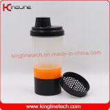 400ml容器(KL-7003)のピルボックスが付いているプラスチックスマートなシェーカーのびん