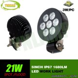 5inch 21W 옥외 크리 사람 LEDs 작동 램프 LED 일 빛
