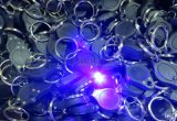 マイクロ395nm Black Light LED紫外線Keychain Flashlight (PK-05)