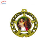 Personalizar la forma de calabaza de alta calidad de la medalla de metal para Navidad