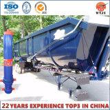 Wantong 4 de Telescopische Hydraulische Cilinder van het Stadium voor de Vrachtwagen van de Stortplaats