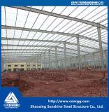 La estructura de acero de construcción de material de construcción con Certificación ISO