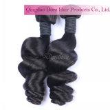 Het professionele Weefsel van het Haar van het Menselijke Haar van de Verkoop van de Fabriek van de Verkoper van het Haar Maleise Onverwerkte