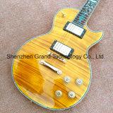 Lp guitarra eléctrica com Abalone vinculativa e hardware de ouro (BPL-145)