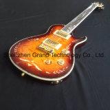 Srp Solid flammé Stripe Matériel argenté guitare électrique (GP-29)