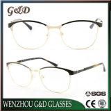 Nouveau design métal verres de lunettes optiques Lunettes de châssis