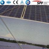 vidrio solar completamente templado de 3.2m m para la cubierta del colector solar