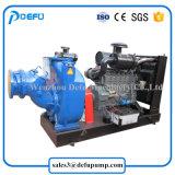 디젤 엔진 수평한 높은 흡입 양정 하수 오물 펌프
