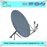 Открытый тип спутниковой параболической антенны Ku диапазона 90см