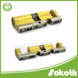 Serratura di cilindro d'ottone aperta del doppio registrabile