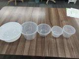 Контейнер еды устранимой микроволны цены по прейскуранту завода-изготовителя пластичный круглый