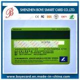 Cartão lustroso popular do PVC com listra magnética