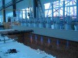 Автоматическая Controlled горячего DIP гальванизировать машина для стального провода