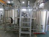 PLC het Brouwende Systeem van de Stoom van de Brouwerij 20bbl van het Bier van de Automatische Controle met Ce, ISO