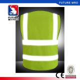 5 кармана полиэстер высокая видимость безопасности отражает Майка Ce/класса 2 с молнией