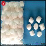 preço de fábrica das bolas de algodão colorido absorvente estéril