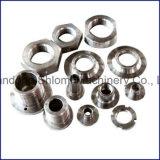 Pieza de aluminio de encargo del giro de metal
