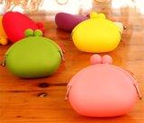 Sacco di cose del silicone di colore della caramella piccolo del mini della moneta del sacco sacco portatile del cambiamento