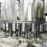 Machines recouvrantes de remplissage de bouteilles remplies par animal familier de l'eau minérale de petite entreprise